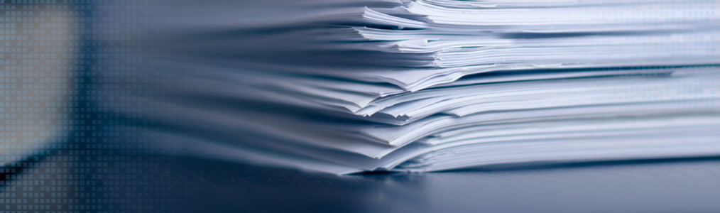 photo of papers and publications