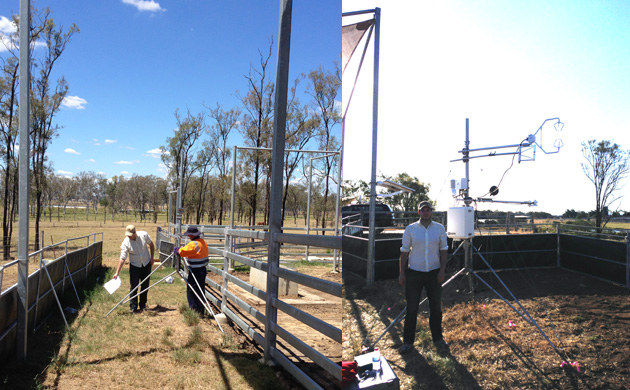 installing-Eddy-our-weather-station