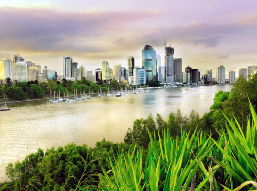 photo of Brisbane river