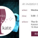Cyber Security Drinks with Kate