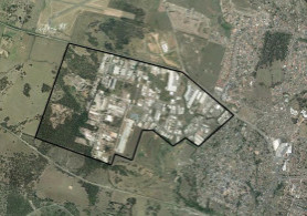 Image of the Rutherford industrial estate for the odour investigation