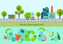Waste Management Article Vector