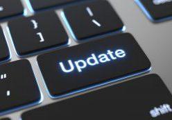 Update text written on keyboard button.